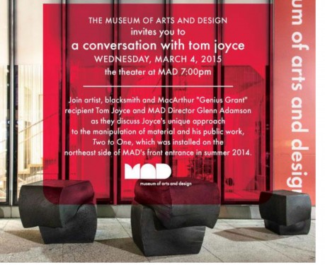 Conversation - Museum of Arts & Design - Tom Joyce