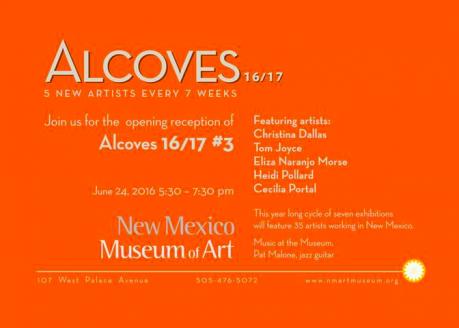 2016 Alcove show invite